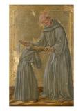Das Ordensgeluebde Des Gehorsams Giclée-Druck von Lorenzo Di Pietro Vecchietta