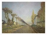 Chemin De La Machine (Or: La Route Du Chemin De Sevres), 1873 Giclee Print by Alfred Sisley