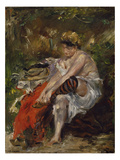 After the Bath, 1906 Giclee Print by Lovis Corinth