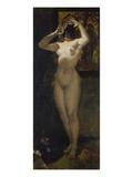 Weiblicher Akt Mit Maske, 1877 Giclee Print by Albert Keller