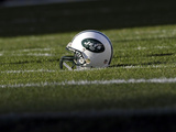 New York Jets - Dec 18, 2011: New York Jets Helmet Photo by Michael Perez