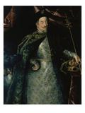 Kaiser Matthias (1557-1619) Als Koenig Von Boehmen (Ausschnitt), um 1612 Giclee Print by Hans von Aachen