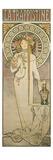 Poster Advertising 'La Trappistine', 1897 Giclée-tryk af Alphonse Mucha