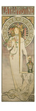 Poster Advertising 'La Trappistine', 1897 Wydruk giclee autor Alphonse Mucha