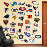 NFL Logo Collection 2012 Wall Decal