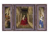 Fluegelaltaerchen Giclee Print by  Jan van Eyck