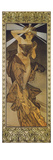 The Moon and the Stars: Morning Star, 1902 (Version B) Giclee Print by Alphonse Mucha