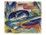 Sleeping Deer, 1912/13 Poster by Franz Marc