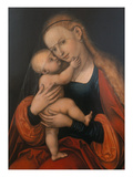 Madonna and Child (Passauer Gnadenbild) Giclee Print by Lucas Cranach the Elder