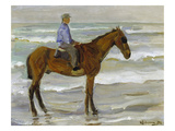 Horseman on the Beach, 1902 Prints by Max Liebermann
