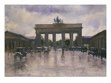 The Brandenburg Gate in Berlin Giclee Print by Lesser Ury