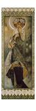 Stars: the Moon, 1902. (Version B) Giclée-tryk af Alphonse Mucha
