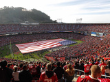 San Francisco 49Ers - Sept 16, 2012: Candlestick Park Photo av Tony Avelar