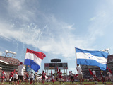 Tampa Bay Buccaneers - Sept 30, 2012: National Hispanic Heritage Month Photographic Print by Margaret Bowles