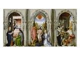 Altar with Scenes from the Legend of the John the Baptist Giclee Print by Rogier van der Weyden (Follower of)
