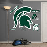 Michigan State Logo Wall Decal