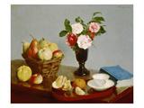 Still Life, 1866 ジクレープリント : アンリ・ファンタン=ラトゥール