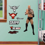 The Rock Jr. Wall Decal