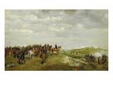 Napoleon III. in Der Schlacht Von Solferino 1859 Giclee Print by Ernest Meissonier