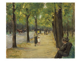 The Zoological Garden in Berlin, about 1920 Giclee Print by Max Liebermann
