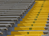Green Bay Packers - Sept 30, 2012: the Stands at Lambeau Field Photographic Print by Mike Roemer