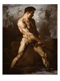 Study of a Male Nude, 1817/20 Giclee Print by Th&#233;odore G&#233;ricault