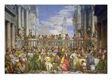 The Marriage Feast at Cana, about 1562/63 Giclée-tryk af Paolo Veronese