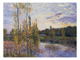 The Lake at Chevreuil, 1888 Print by Alfred Sisley