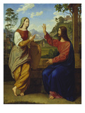 Christ and the Samaritan Woman at the Well Prints by Ary Scheffer