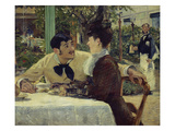 The Couple of Pere Lathuille, 1879 Art by Edouard Manet