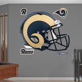 St. Louis Rams Revolution Helmet Wall Decal