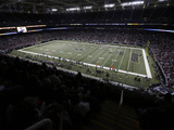 St. Louis Rams - Sept 16, 2012: Edward Jones Dome Photo av Jeff Roberson