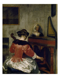 The Concert, about 1675 Giclee Print by Gerard ter Borch