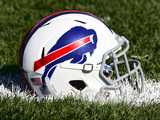 Buffalo Bills - July 27, 2012: Buffalo Bills Helmet Photographic Print by David Duprey