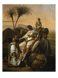 Arrival of the Ladies of the Harem, 1842 Giclee Print by Henri-frederic Schopin
