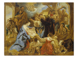The Adoration of the Sheperds, 1653 Giclee Print by Jacob Jordaens
