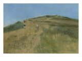 Dune Landscape Off a Steep Coast Posters by Edgar Degas