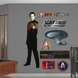 Star Trek Next Generation - Lieutenant Commander Data Wallstickers