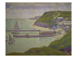 Harbour at Port-En-Bessin at High Tide, 1888 Giclee Print by Georges Seurat