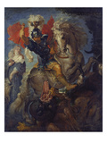 St. Georg Giclee Print by Peter Paul Rubens