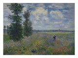 Poppies (Near Argenteuil) 1873 Giclee Print by Claude Monet