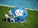 University of North Carolina: North Carolina Tar Heels Football Helmet Foto