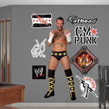 CM Punk Wall Decal