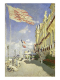 Hotel Des Roches Noires in Trouville, 1870 Giclee Print by Claude Monet