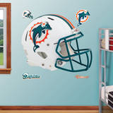 Miami Dolphins Revolution Helmet Wall Decal