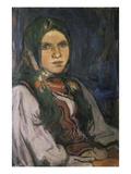 Country Girl (Wiejska Dziewczyna) Giclee Print by Wladyslaw Slewinski