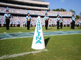 University of North Carolina: UNC Cheerleaders and Band Photographic Print