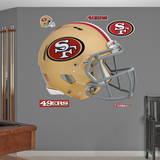 San Francisco 49ers Revolution Helmet Wall Decal