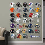 NFL Helmet Collection 2012 Wall Decal