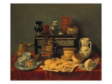 Still Life with an Ebony Chest, 1652 Giclee Print by Antonio Pereda y Salgado